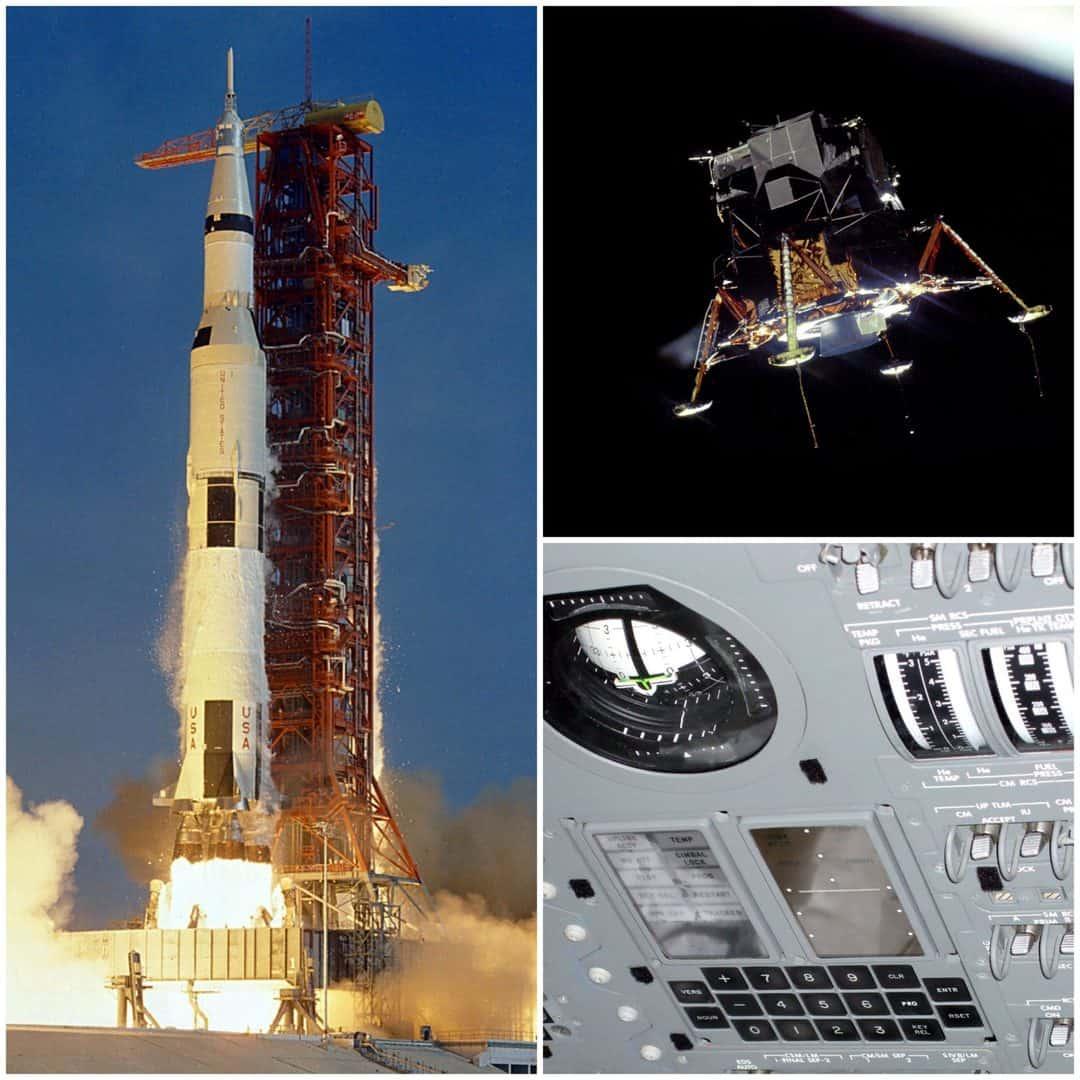 Geheugen borden voor NASA